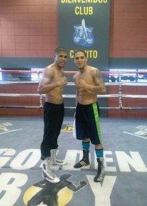 Juanma Lopez y Jonathan Oquendo media day 2