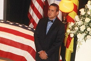 El alcalde del Municipio Autónomo de San Lorenzo, Hon. José R. Román Abreu, presidió una guardia de honor.