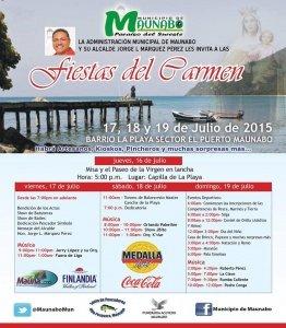 Fiestas del Carmen Maunabo 2015
